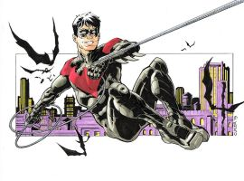 Nightwing (new 52) by davidjcutler
