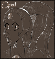 Opal by AccursedAsche