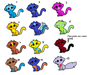 More cheap and free kitty adopts by Spudzzo