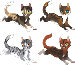 Adoptables Batch - Closed - by SpottedAdopts