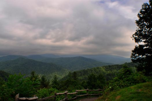 Smokies Overlook by Yugoboy