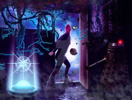 Where are you,Doctor? by Renata-s-art