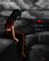 alone in this broken down world by Lalliebear