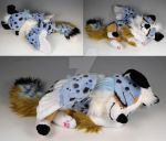 Custom Sleepy Baby Winged Pup by WhittyKitty