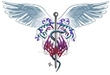 Caduceus Tattoo by Kezhound