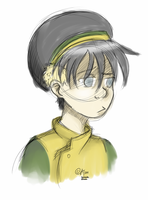 toph bei fong doodle by kamidoodles