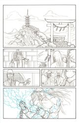 Myths Lineart Page 04 by Blaquesmith