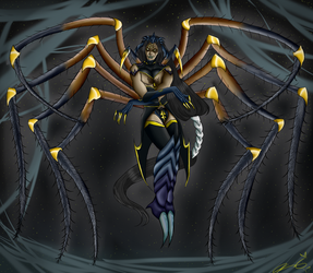 ~The Spider Caller~ by deadlysupia