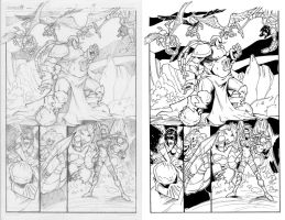 Sequential - Pencil + Inks by fabianfucci