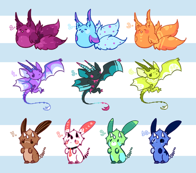 Pet Adopts - ClOSED by MaiaSadoptsNstuff