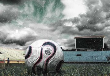 The soccer ball by h-mangino