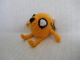 Jake the Dog Amigurumi Keychain by TheSmall-Stuff