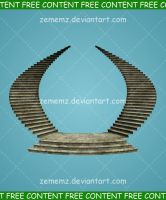 Stairway 001 - FREE Content by zememz