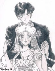 Manga Serenity and Endymion by BunnyG88