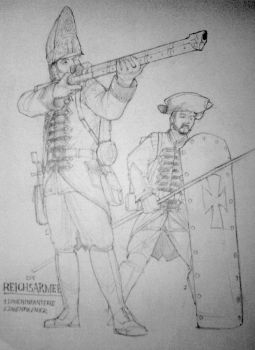 Reich Infantry by LucreziaNavarre