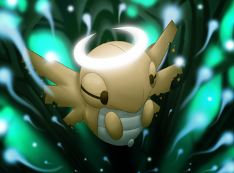 :Rise with Me: Shedinja by endless-whispers