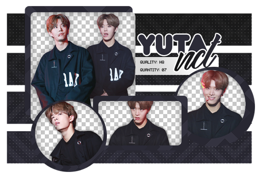Yuta PNG PACK #2 NCT by UpWishColorssx