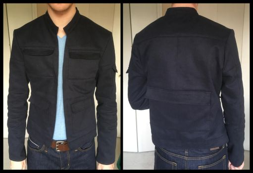 Han Solo Empire Strikes Back cosplay jacket by TimeyWimey-007