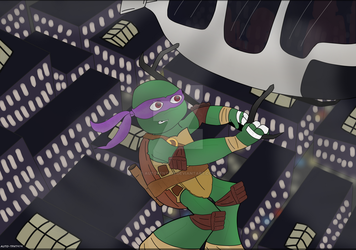 TMNT: 2012k17: Donnie by AutoTFNT979