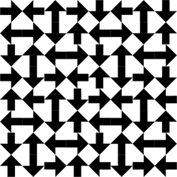Turned Arrow Pattern 2 by andydiehl