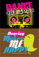 DANCE GRAPHICS by jsgraphix