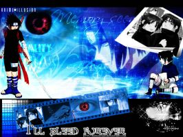 Naruto: I'll Bleed Forever by morfachas
