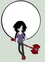 Adventure Time: Marceline - Moon by icanhascheezeburger