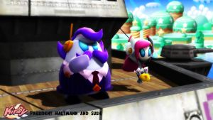 (MMD/XPS Model) President Haltmann and Susie DL by SAB64