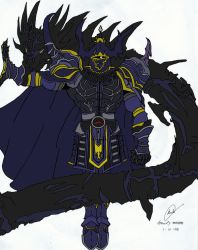 Golbez, Clad in Darkness by PAniC-Rayne
