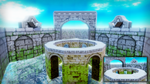 [MMD Stage DL] Water Palace Boss Stage by Vianesta