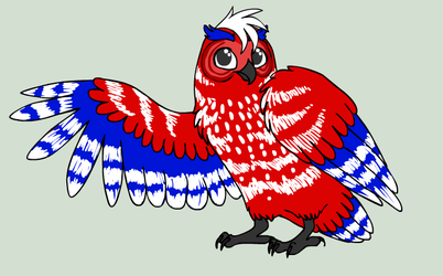 Americania The Owl by nikkissippi121