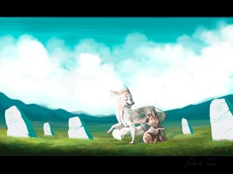 The ancient grave by Darkpaw2001