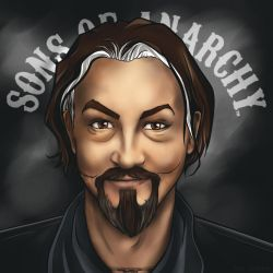 Tommy Flanagan as Chibs (Sons of Anarchy) by Soul-Invictus