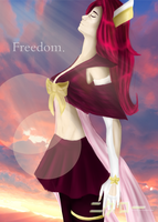 For freedom by Skaithis
