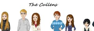 The Cullens by EvanescencePirate13