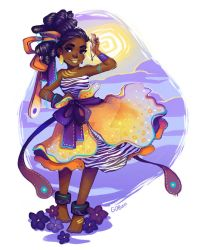 African Violet by GDBee
