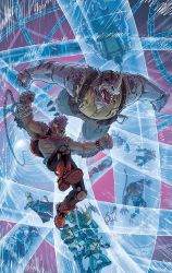 Bebop and Rocksteady Destroy Everything! #1 by DustinWeaver