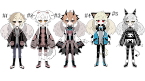 angel kemonomini adoptable batch CLOSED by AS-Adoptables