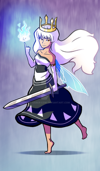 Child of Light _ Inked Aurora by Saber-Cow