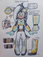 Cable the Badger - Ref Sheet [Cheeb Edition] by NejiShadow