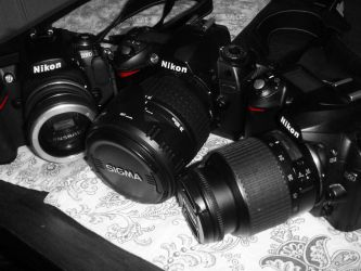 Nikon Family by LDFranklin