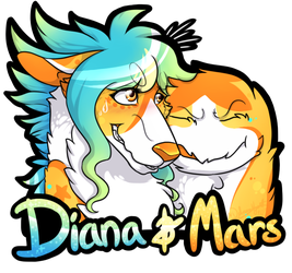 (badge-personal) Diana + Mars by LindsayPrower
