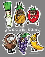 Gundam Wing Boys R FRUITS by Tsubasa-No-Kami