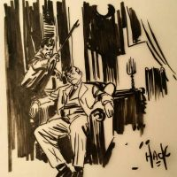 Pulp doodling  by RobertHack