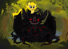 Shadow in the everfree forest by MuddyDump
