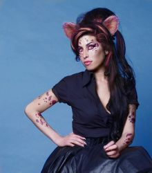 Amy Winehouse Cat Person by discipleneil777