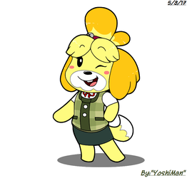 Isabelle by YoshiMan1118