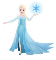 Frost Queen Elsa by Dormant0611