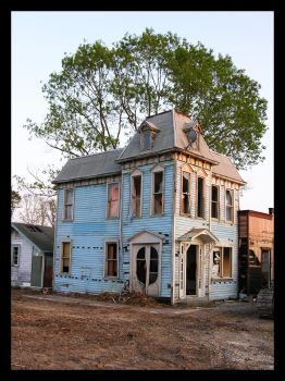 Old Abandoned house stock 6 by FairieGoodMother
