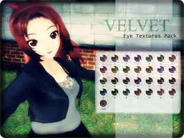 Velvet Eye Textures Pack Download by mmdyesbutterfly